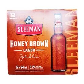 Bière Sleeman Honey Brown 5.2%alc 12 Bouteilles 341mL