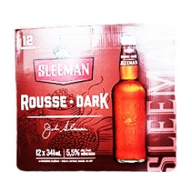Bière Sleeman Rousse Dark 5.5%alc 12 Bouteilles 341mL