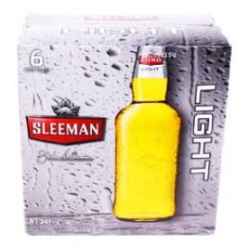 Bière Sleemen Light 4%alc 6 Bouteilles 341 mL
