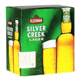 Bière Sleemen Silver Creek Lager 5%alc 6 Bouteilles 341 mL