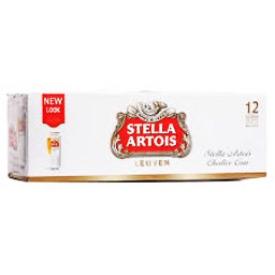 Bière Stella Artois 5.2%alc 12 Canettes 330 mL