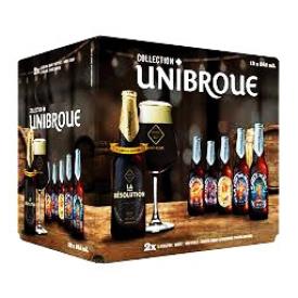 Bière Unibroue la Collection 12 Bouteilles 341 mL