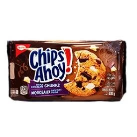 Biscuits Chips Ahoy Triple Morceaux de Chocolat 300g