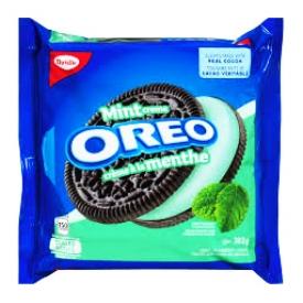 Biscuits Oreo Crème à la Menthe 303g