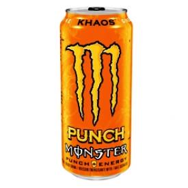 Boisson Énergisante Monster Énergy Khaos Punch 473 mL