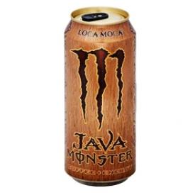 Boisson Énergisante Monster Énergy Loca Amoca Java 473 mL