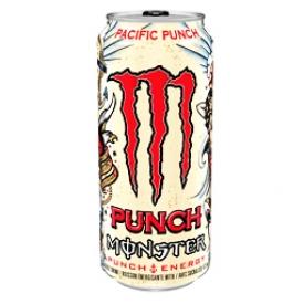 Boisson Énergisante Monster Énergy Pacific Punch 473 mL