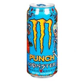 Boisson Énergisante Monster Énergy Punch Mango Loco 473 mL