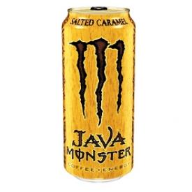 Boisson Énergisante Monster Énergy Salted Caramel Java 473 mL