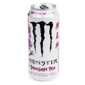 Boisson Énergisante Monster Énergy Thé Blanc Dragon Tea 473 mL