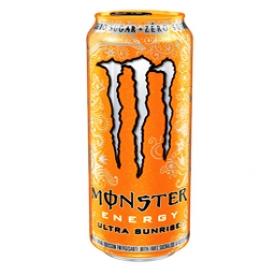 Boisson Énergisante Monster Énergy Ultra Sunrise Zéro Sucre 473 mL