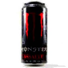 Boisson Énergisante Monster Assault Rouge