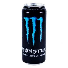 Boisson Énergisante Monster Lo-Cal Bleu