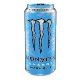 Boisson Énergisante Monster Ultra Bleu