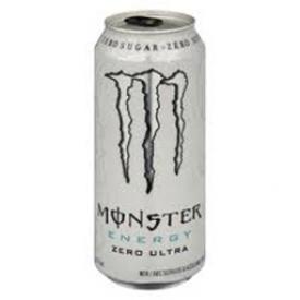 Boisson Énergisante Monster Zero Ultra Canette 473 mL
