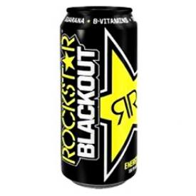 Boisson Énergisante Rockstar Blackout