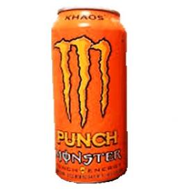 Boisson Énergisante Monster khaos Punch Orange