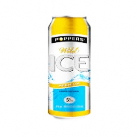 Boisson Poppers Ice Wild 5%alc Canette 473 mL