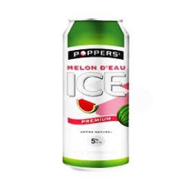 Boisson Poppers Melon d'Eau 5%alc Canette 473 mL