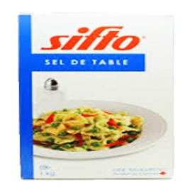 Boite de Sel de Table Sifto 1 Kg