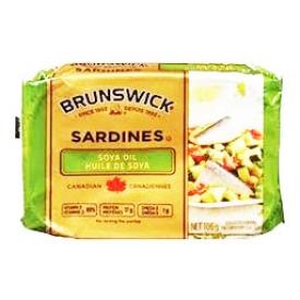 Brunswick Sardines Huile de Soya 106g