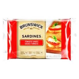 Brunswick Sardines Sauce Tomate 106g