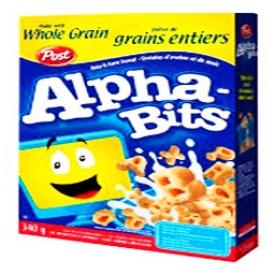 Céréale Alphabits