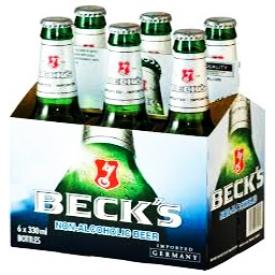 Bière Beck's Sans Alcool 6 Bouteilles 330 mL