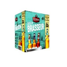 Bière Sleeman Caisse du Brasseur 6 Bouteilles 341 mL