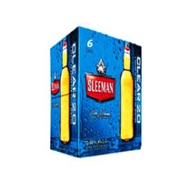 Bière Sleeman Clear 2.0 4%alc 6 Bouteilles 341 mL