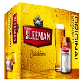 Bière Sleeman Original 5%alc 12 Canettes 355 mL