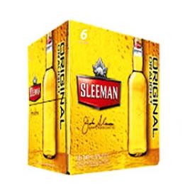 Bière Sleeman Original 5%alc 6 Bouteilles 341 mL