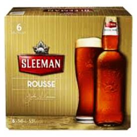 Bière Sleeman Rousse 5.5%alc 6 Bouteilles 341 mL