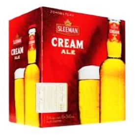 Bière Sleeman Cream Ale 5%alc 12 Bouteilles 341mL