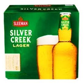 Bière Sleeman Silver Creek Lager 5%alc 12 Bouteilles 341 mL