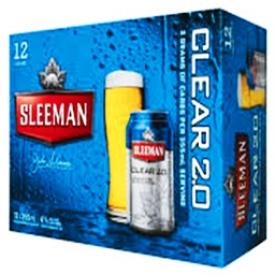 Bière Sleeman 2.0 4%alc 12 Canettes 355 mL