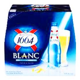 Bière 1664 Blanc 5%alc 12 Bouteilles 330 mL