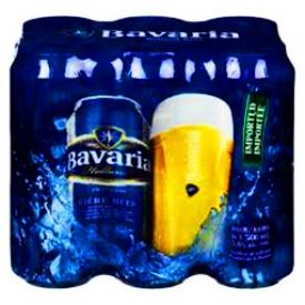 Bière Bavaria 5.0% 6 Canettes 500 mL