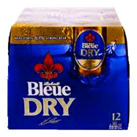 Bière Labatt Bleue Dry 6.1%alc 12 Bouteilles 341 mL