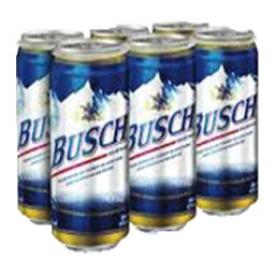 Bière Busch 4.7%alc 6 Canettes 355 mL