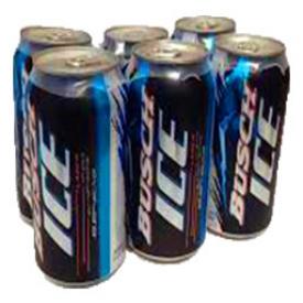 Bière Busch Ice 5.5%alc 6 Canettes 355 mL