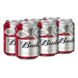 Bière Budweiser 5%alc 6 Canettes 355 mL