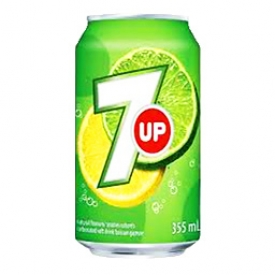 Liqueur 7up Canette 355 mL