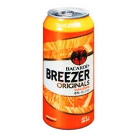 Bière Bacardi Breezer Originals Tangerine 6%alc Canette 473 mL
