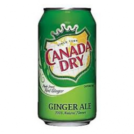 Liqueur Canada Dry Ginger Ale Canette 355 mL