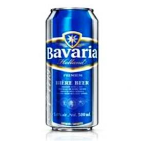 Bière Bavaria 5%alc Canette 500 mL
