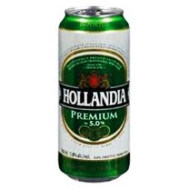 Bière Hollandia 5%alc Canette 500 mL