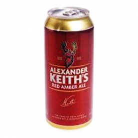 Bière Alexander Keith's Red Amber Ale 5%alc Canette 473 mL
