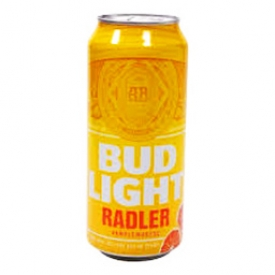 Bière Bud Light Radler Pamplemousse 4%alc Canette 473 mL