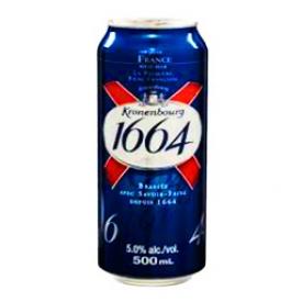 Bière 1664 Blanc 5%alc Canette 500 mL